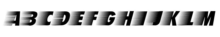 BreezedCaps BoldOblique Font LOWERCASE
