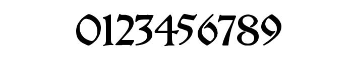 Breitkopf Fraktur Font OTHER CHARS