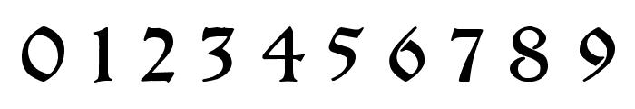 Breitkopf FrakturUNZ1L Italic Font OTHER CHARS