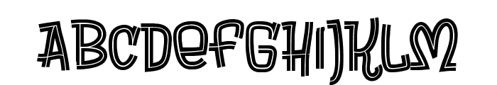 Brewsky Font UPPERCASE
