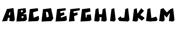 Brexi Stone-DEMO Regular Font UPPERCASE