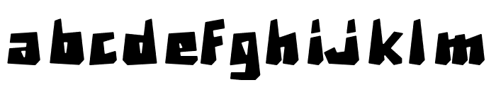 Brexi Stone-DEMO Regular Font LOWERCASE