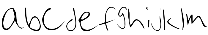 Brian Cary Font LOWERCASE