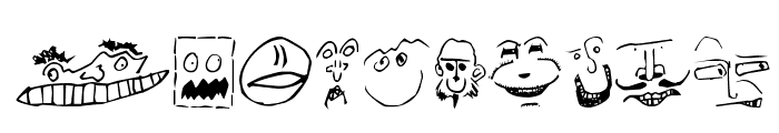 Brian Powers Doodle   Normal Font OTHER CHARS