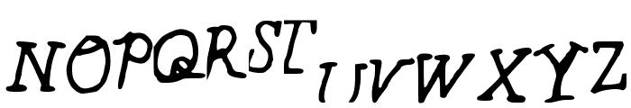 BrianFont Font UPPERCASE