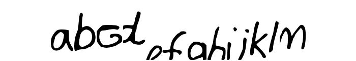 BrianFont Font LOWERCASE