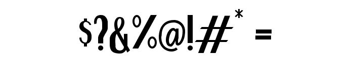 Brianne Regular Font OTHER CHARS