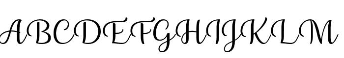 Briany Font UPPERCASE