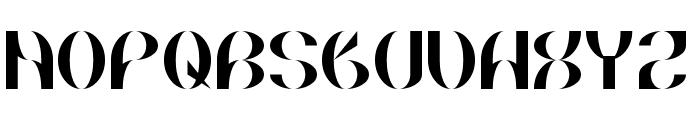 Briarthorn Font UPPERCASE