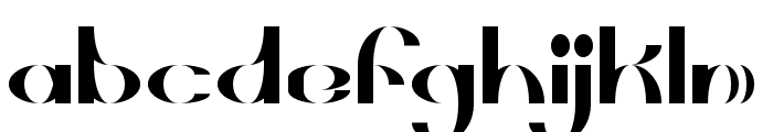Briarthorn Font LOWERCASE
