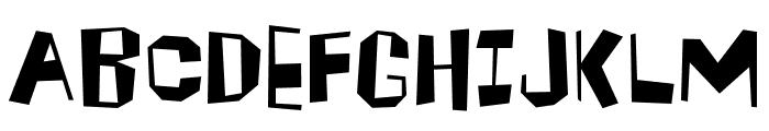 Brickhouse Font UPPERCASE