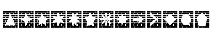 Bricks n Things Font UPPERCASE
