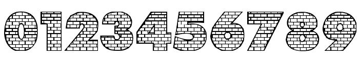Bricks Font OTHER CHARS
