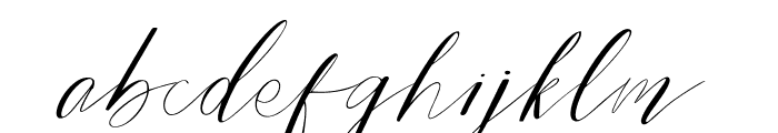 Bride Style DEMO Regular Font LOWERCASE