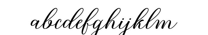 BridgetScript Font LOWERCASE