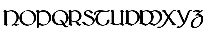 Bridgnorth Bold Font UPPERCASE