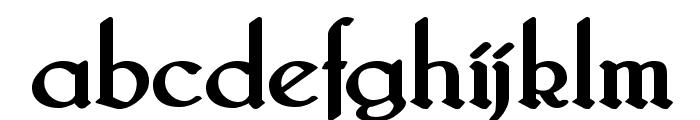 Bridgnorth Bold Font LOWERCASE