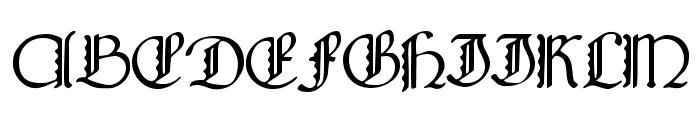 Bridgnorth Capitals Font UPPERCASE