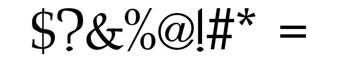 Bridgnorth Regular Font OTHER CHARS