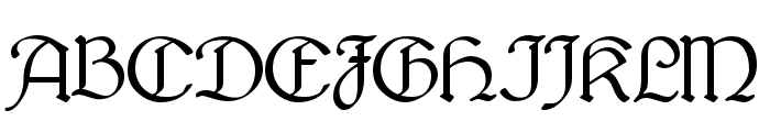 Bridgnorth Regular Font UPPERCASE