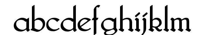Bridgnorth Regular Font LOWERCASE
