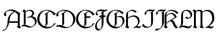 Bridgnorth Font UPPERCASE