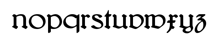 Bridgnorth Font LOWERCASE