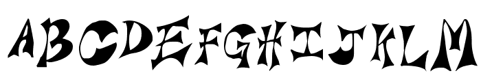 Bridie Font UPPERCASE