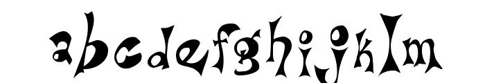 Bridie Font LOWERCASE