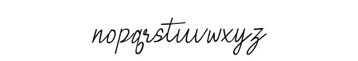 BrielleRegular Font LOWERCASE