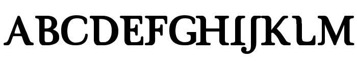 Brig Maven Font UPPERCASE