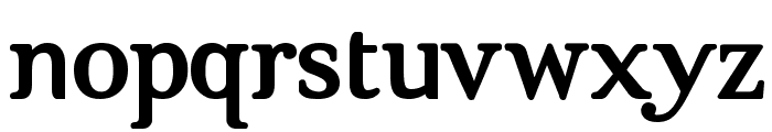 Brig Maven Font LOWERCASE