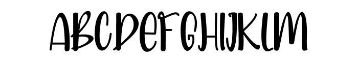 Bright Dream Font UPPERCASE