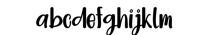 Bright Dream Font LOWERCASE