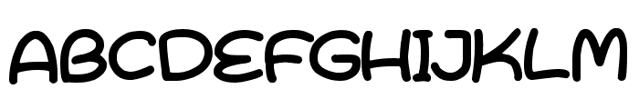 Bright & Early Font UPPERCASE
