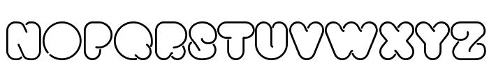 Bright Lights Heavy Font UPPERCASE