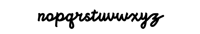 Bright beauty normal Font LOWERCASE