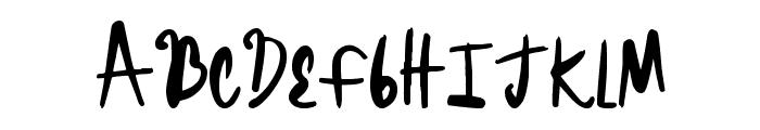 BrightHeadline Font LOWERCASE