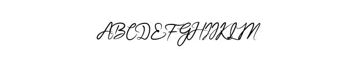 BrightnesSignature Font UPPERCASE