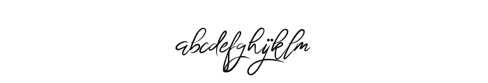 BrightnesSignature Font LOWERCASE