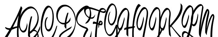 Brilhant Font UPPERCASE