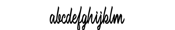 Brilhant Font LOWERCASE