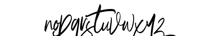 Briliantine Script Demo Font LOWERCASE