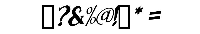 Brimborion Fou Italique Font OTHER CHARS