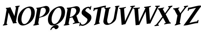 Brimborion Fou Italique Font UPPERCASE