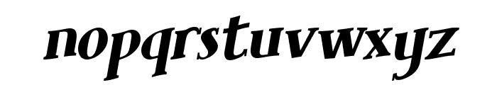Brimborion Fou Italique Font LOWERCASE