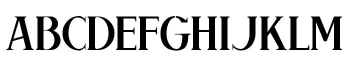 Brimborion Light Font UPPERCASE