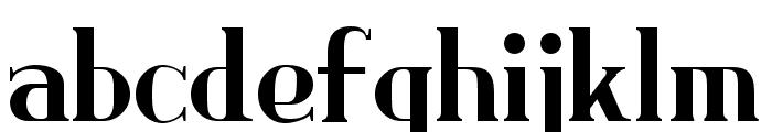 Brimborion Light Font LOWERCASE