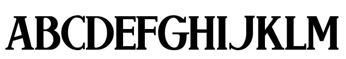Brimborion Font UPPERCASE