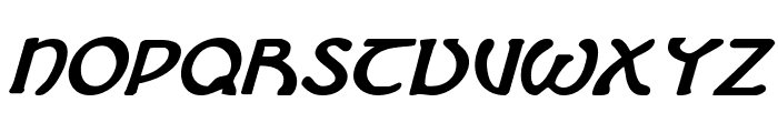 Brin Athyn Bold Italic Font UPPERCASE